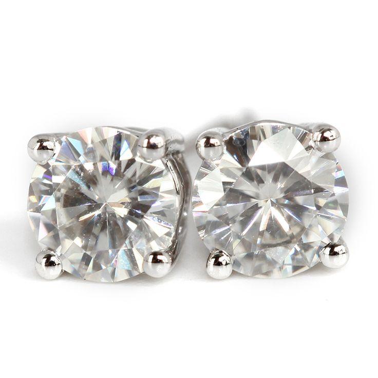 http://gemdivine.com/queen-brilliance-genuine18k-750-white-gold-push-back-1-carat-ct-f-color-test-positive-lab-grown-moissanite-diamond-earrings/