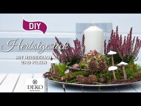 Weihnachtsdeko basteln: Adventskranz im Naturlook How-to | Deko Kitchen – YouTub… – Weihnachten