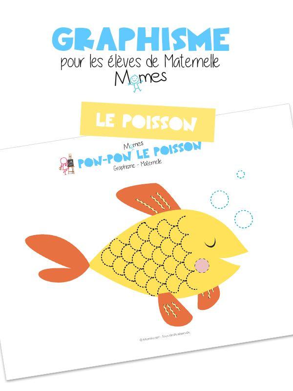 Les ponts de Pon-pon le poison : graphisme maternelle
