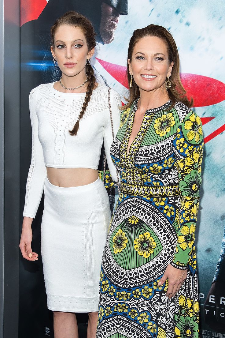 Diane Lane Brings Her Look-Alike Daughter to the Batman v Superman Premiere