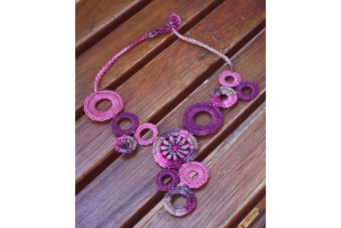Crochet Jewellery by Lattice and Lace on hellopretty.co.za