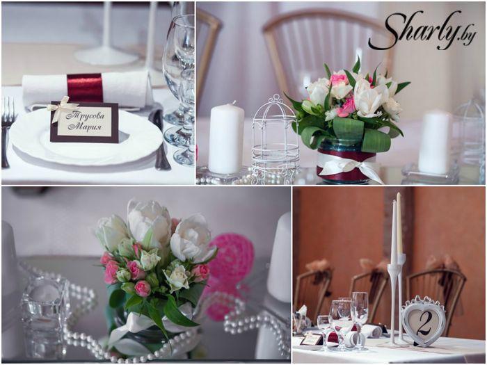Шоколадно-розовая свадьба