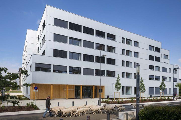 Laboratoires en sciences humaines et sociales de l'université de Paris Ouest _Nanterre La Défense _ Pascal Gontier architecte