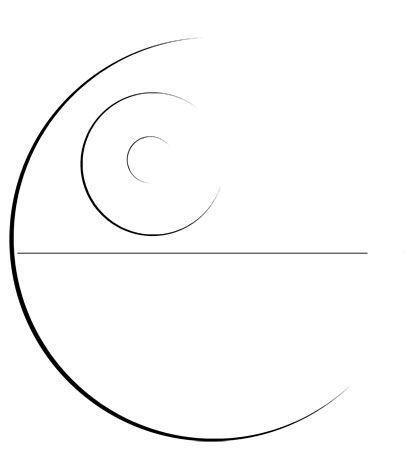 minimalist death star - Google Search