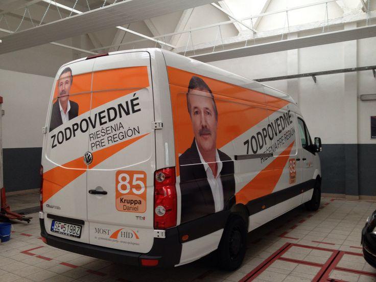 Polep auta na politickú kampaň