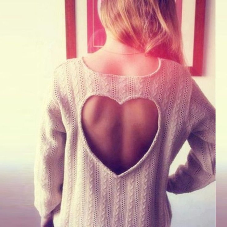 Winter Clothes Women Heart-Shaped Hollow Out Knit Long-Sleeve Women Knitted Sweater Maglie Donna #1111