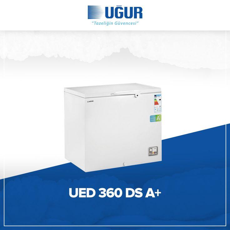 UED 360 D/S A+ birçok özelliğe sahip. Bunlar; üç farklı mod seçeneğiyle dondurucu, soğutucu ve sıfır derece özelliği, sağlam gövde yapısı, marka uygulama ve değiştirme kolaylığı, dolap içi aydınlatma, tek düğme ile hızlı şok Soğuk hava tabanda korunduğu için daha az enerji harcar, besinleri üst üste istifleyerek daha fazla ürün depolaması sağlar, ayarlanabilir termostat, A+ Düşük enerji sınıfı ve kolay ve esnek konumlandırma için opsiyonel 4 adet tekerlek. #uğur #uğursoğutma