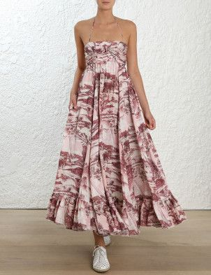 Kali Hawaiian Long Dress