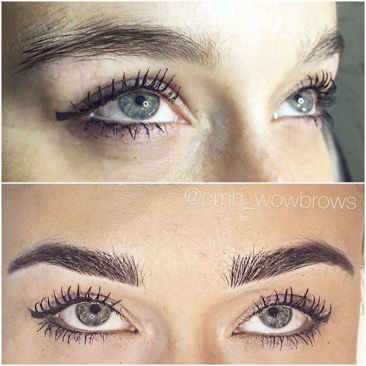 Microblading 3d Hair Strokes: Hair Stroke Feather Touch Micro Blading Natural Eyebrow
