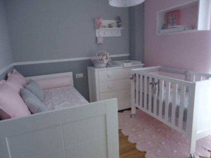 Ayuda habitacion niña en rosa y gris | Decorar tu casa es facilisimo.com