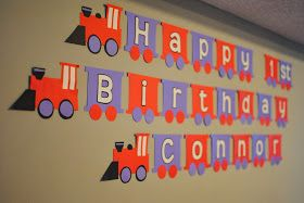 Moments That Take My Breath Away: DIY Train Birthday Banner Free Printable Template