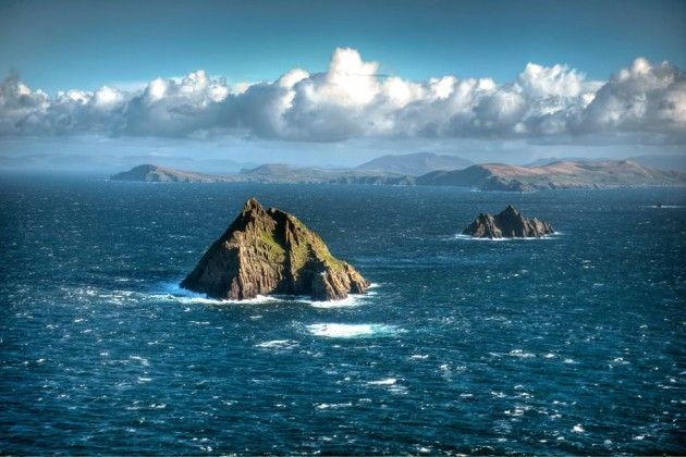 Ireland Skellig Islands #Kerry Air Corps shots