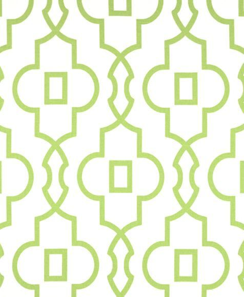 Quatrefoil Lattice Curtain Panels Modern Kiwi by exclusiveelements