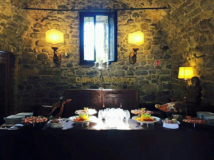 Wedding buffet al castello