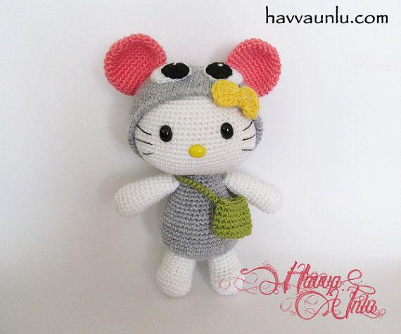 Tuto Gratuit Amigurumi Hello Kitty : 17 Best images about Havva ?nl? Patterns on Pinterest ...