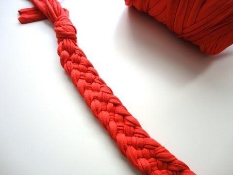 ▶ Tutorial DIY trenza 5 cabos / 5-Strand Braid DIY Tutorial - YouTube