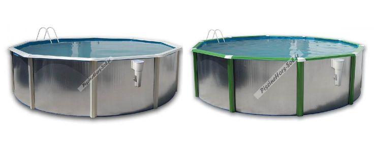 On vous présente la série Silver. Originales piscines en acier hors sol avec des profils personnalisés. On dispose de beaucoup de couleurs aussi comme de dimensions à choisir. Disponible en forme ronde et ovale. Obtenez vos remises ou des cadeaux ! http://www.piscinehorssol.com/piscine-toi-silver/