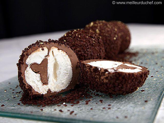 Boule meringuée au chocolat - Meilleur du Chef