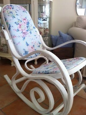 Rocking Chairs Nursery Ireland Patio Chair Glides Plastic Shabby Old Gone Are The Days When Decorating Was A One Particular And Accomplished Deal