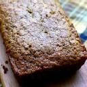 Crazy EASY Zucchini Bread -- bisquick mix instead of flour, baking soda, and all that what-what....