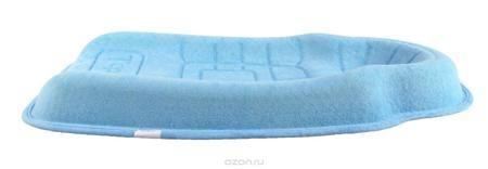 TeploKid Позиционер-подушка цвет голубой TK-SM01-D  — 2082р. --- Форма, позволяющая избежать точечной нагрузки на тело ребенка. Препятствует развитию ассиметрии черепа ребенка и искривления шейного позвонка во время сна за счет боковой поддержки. Подушка имеет специальные канавки для циркуляции воздуха и предотвращения опрелостей головы. Можно использовать как: коврик для сна, мобильную кроватку в гостях или путешествии, в качестве пеленального столика. От 0 - 5 месяцев