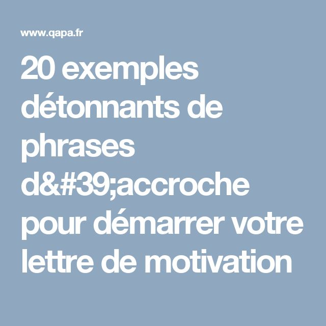 best 25  lettre candidature ideas on pinterest