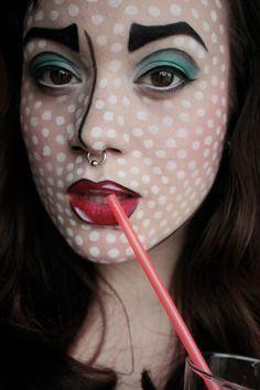 pop art makeup | Costumes, Themed Make-up Tutorials and Ideas ...