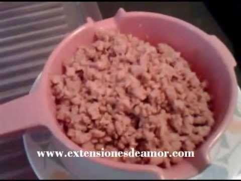 Cómo preparar Soya texturizada, antes de guisarla.  (Eliminar el sabor propio de la soya)
