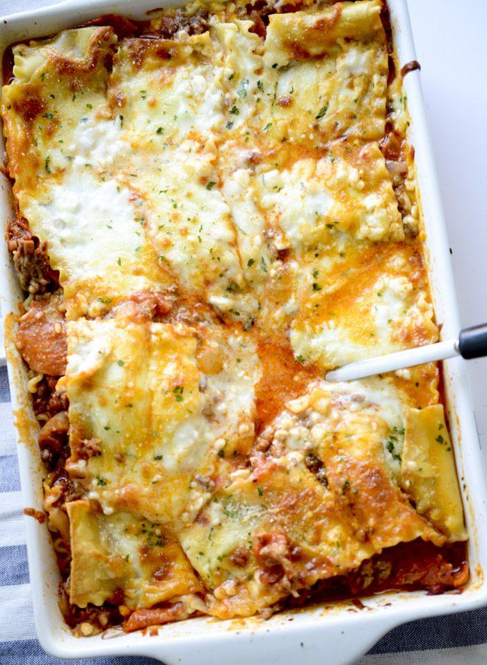 trisha yearwood's cowboy lasagna