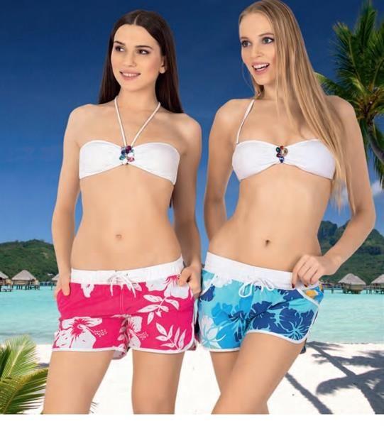 Женские шорты купальник