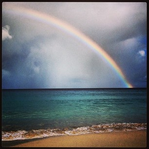 """With spectacular rainbows like these, is it any wonder Anguilla is called """"Rainbow City""""? ;)"""