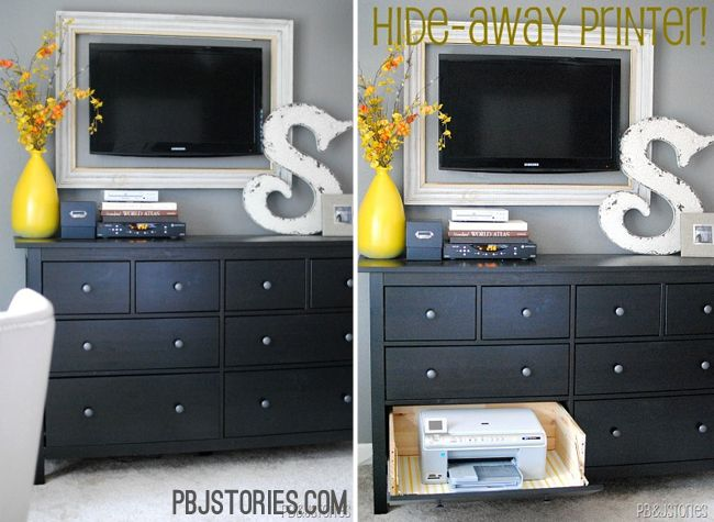 17 Best Images About Printer Storage On Pinterest