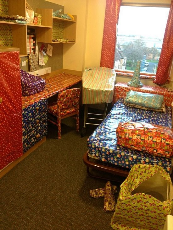 best dorm room pranks I'm looking to play funny but legal pranks on my friends in the dorm, any suggestions.
