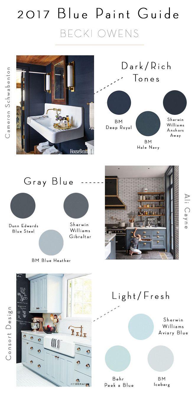 Dark blue paint colors - Interior Design Ideas Gray Blue Paintsblue Paint Colorsbenjamin
