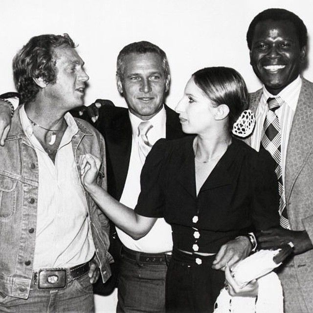 Almost too much coolness: 1969, McQueen, Newman, Streisand, Poitier.