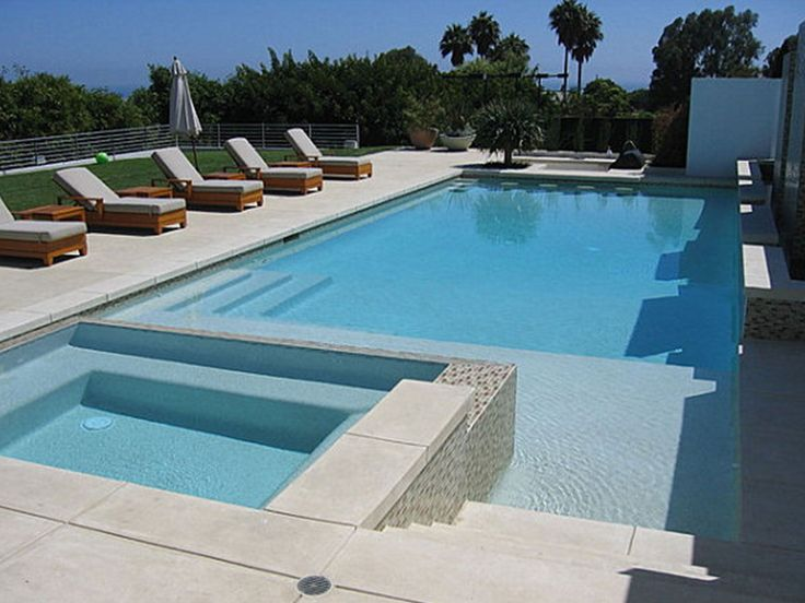 17 best ideas about swimming pool tiles on pinterest for Modern contemporary swimming pools