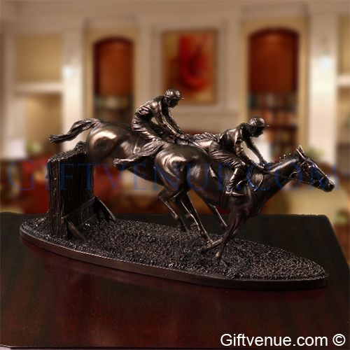 Genesis Over The Last Horse Sculpture