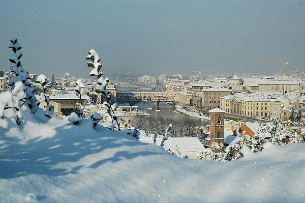 Firenze 17 dicembre, nevicata record nel 2010 [FOTO] - 055Firenze