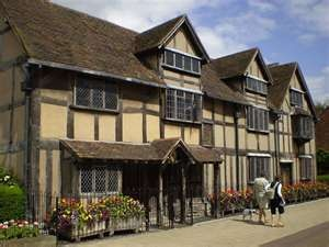 Shakespears house in Stratford Upon Avon, England