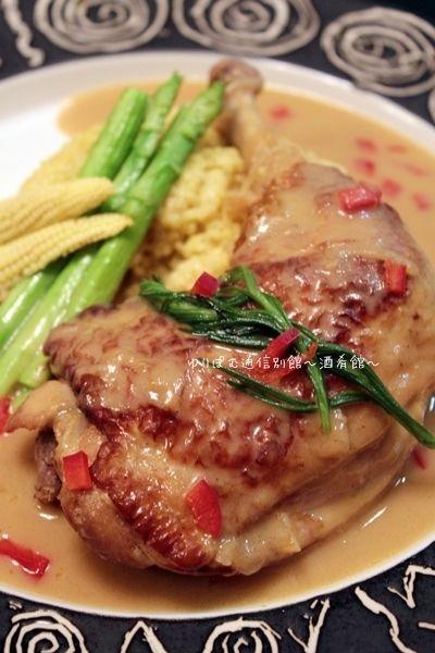 骨付き鶏もも肉のカレークリーム煮ときびきびレシピ。 by 薬膳師ゆりぽ ...