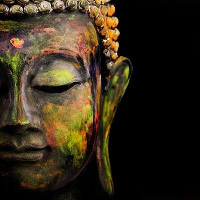 Pixelarte Cuadros Decorativos Buda en Colores