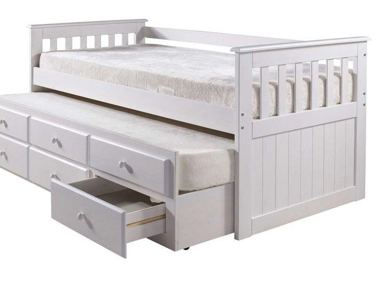 top lit gigogne x cm captain coloris blanc vente de lit enfant conforama with lit petite fille