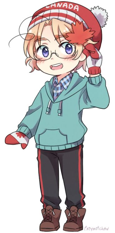 30 day hetalia challenge day 9: Character you'd bring home to your parents- Canada. They wouldn't even see that I brought him home XD