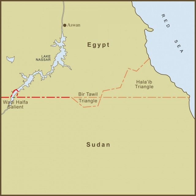 Top 10 Odd Places to Put on Your Bucket List - The Bir Tawil is a section of the #Sahara between Egypt and Sudan which was part of a survey error around 100 years ago. One side put the land in Egypt, the other in Sudan. But unlike every other conflict in history the two sides have never argued over who owns it, but rather who has to take it, making it the geographical red headed stepchild.