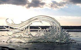 glass sculpture by Paula Rylatt