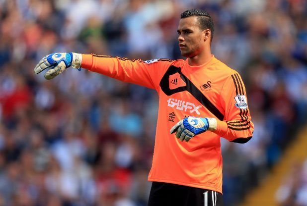 Swansea City will NOT have to pay Utrecht after Michel Vorm's move to Tottenham Hotspur