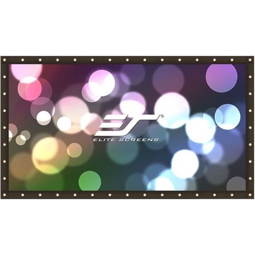 "Elite - Screens DIY Pro Series 123"" Outdoor Projector Screen - Black"