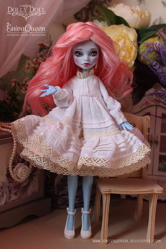 Monster High Abbey OOAK custom doll by Eniva Queen by Enivati