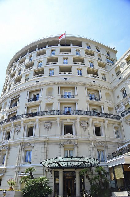 Hotel de Paris, Monte Carlo, Monaco