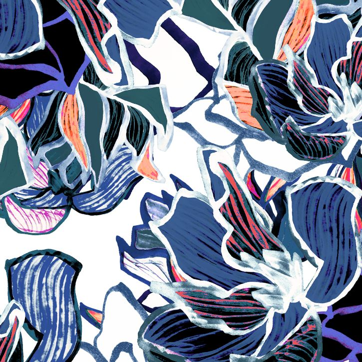 Liz Casella | Fashion Textile Design | Contemporary Print Design